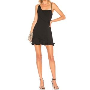 NBD x Revolve Fox Mini Dress in Black